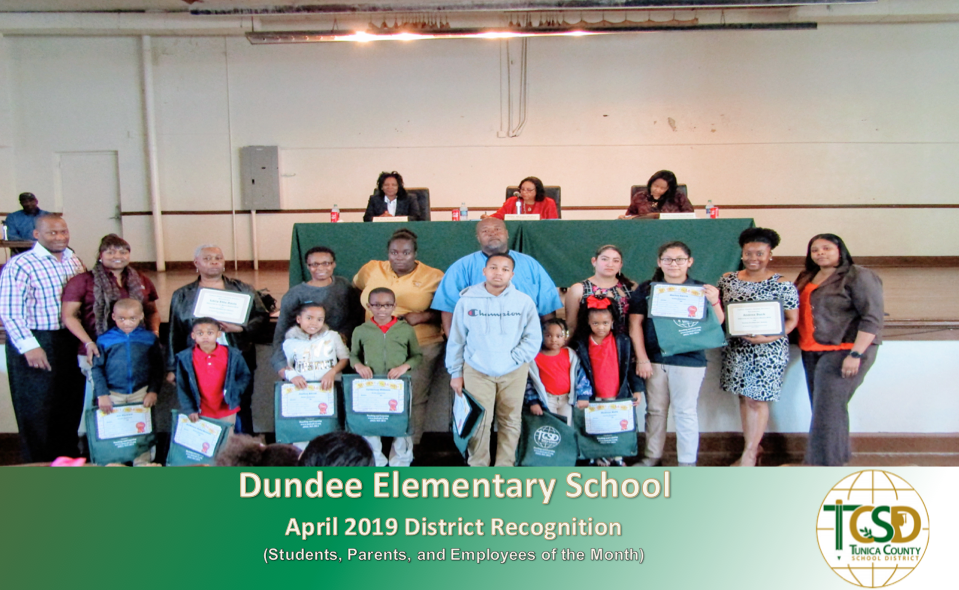 April 2019 Dundee Recognitons