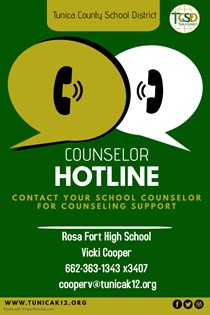 RFHS Counselor Hotline