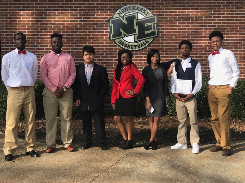 FBLA students attend MS-FBLA Northern District Conference