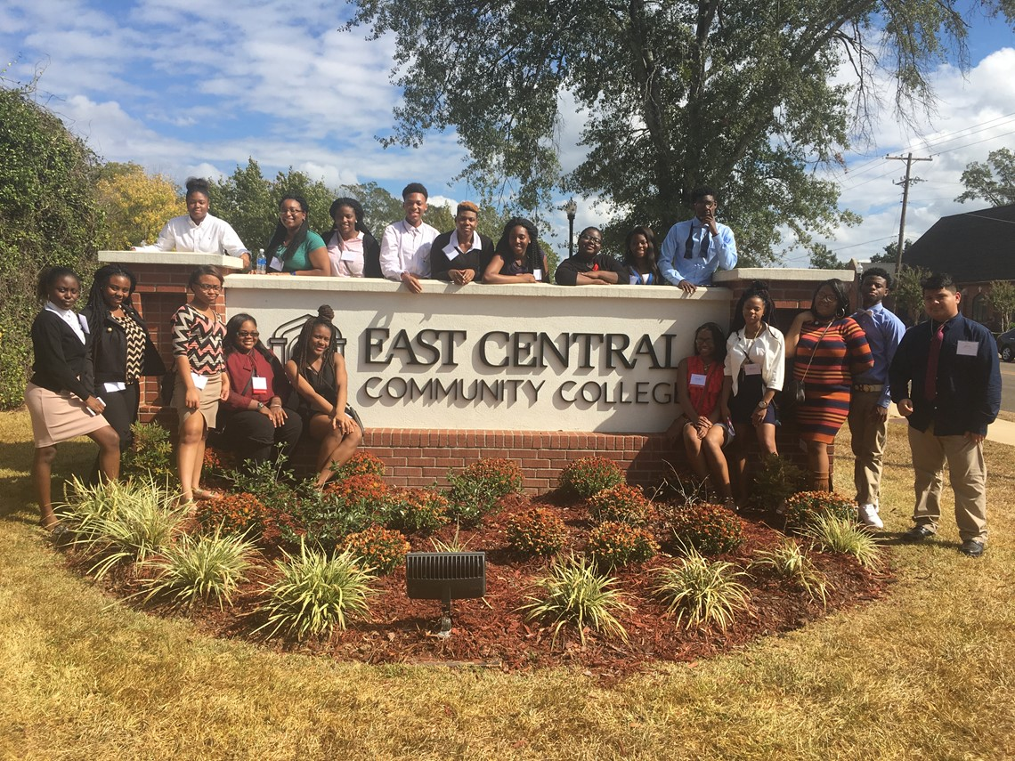 FBLA attends MS-FBLA State Fall Leadership Conference at East Central Community College