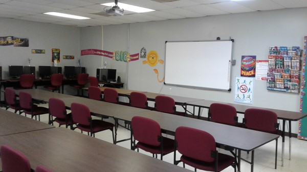 Meeting Room with Projector Board