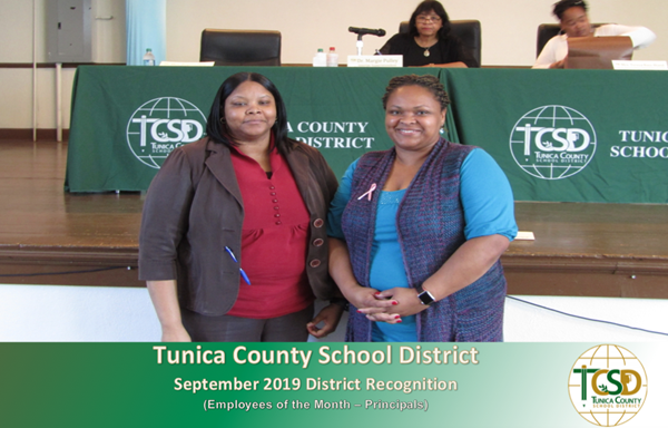 2019 September District Recognitions