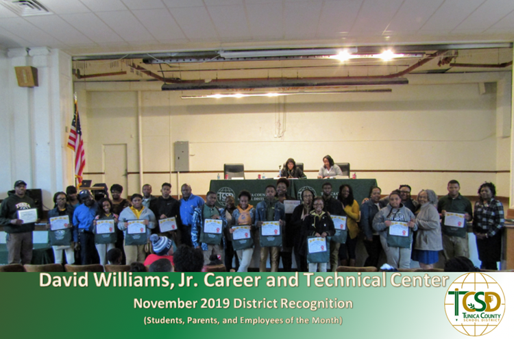 Recognitions Nov 2019