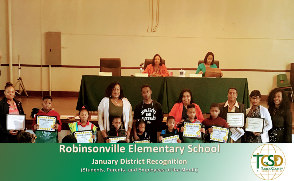 RES January Recognitions