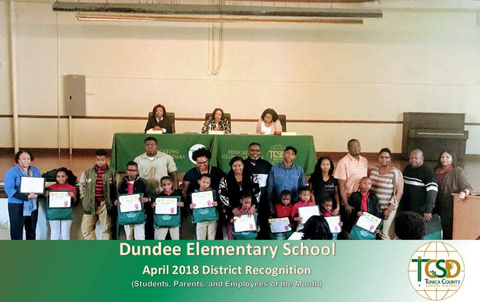 Dundee April 2018 Recognitions