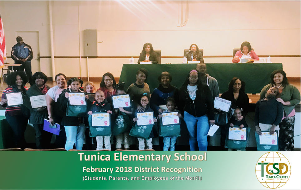 TES Feb. 2018 Recognitions