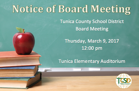 March Board Meeting