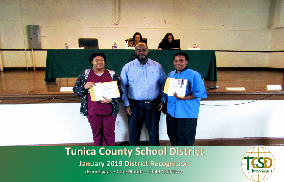 District Recognition January 2019