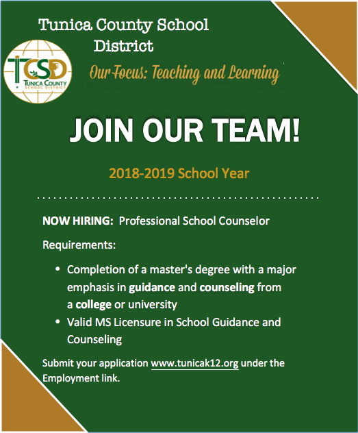 Now Hiring Counselor