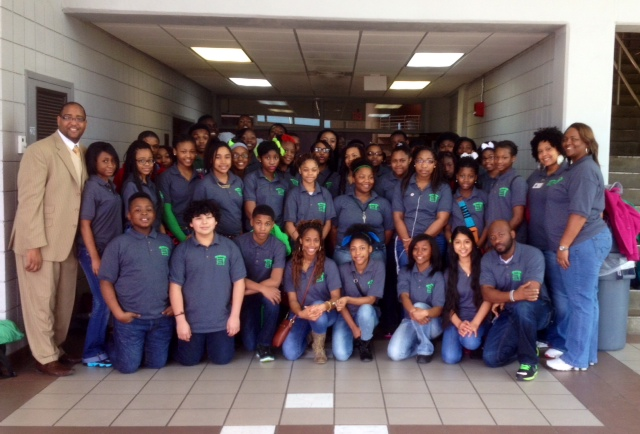 Tms National Jr Honor Society Visits Coahoma Community College For