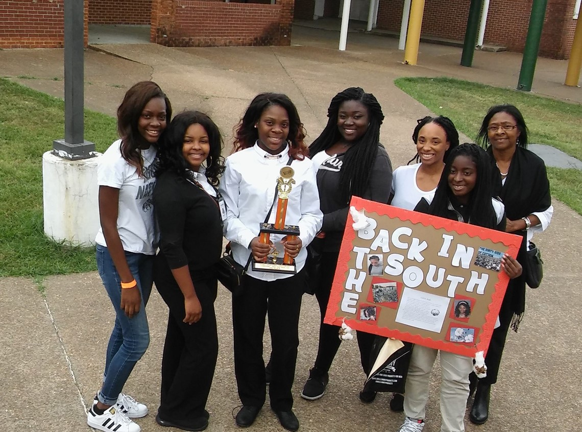 Cosmetology students take 2nd place Locked and Loaded Trend Show and Student Competition.
