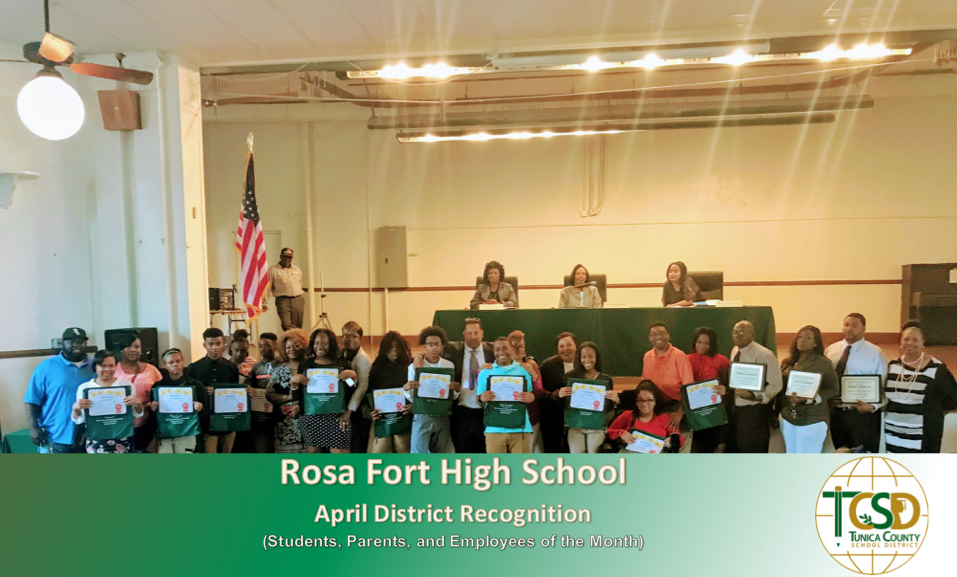 RFHS Apr. 2017 Recognitions