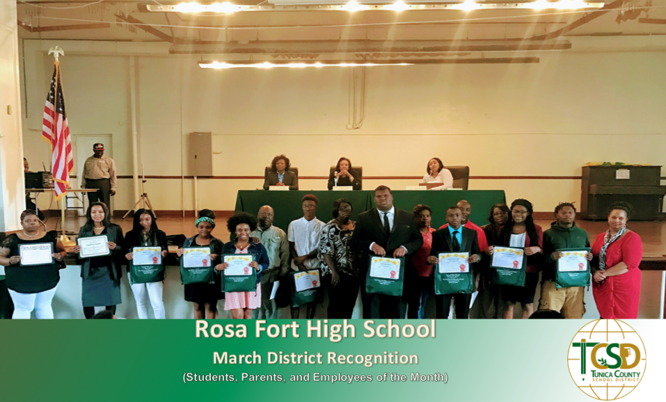 RFHS District Recognitions