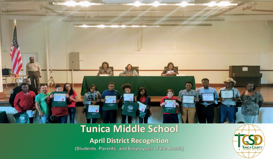 TMS Apr. 2017 Recognitions
