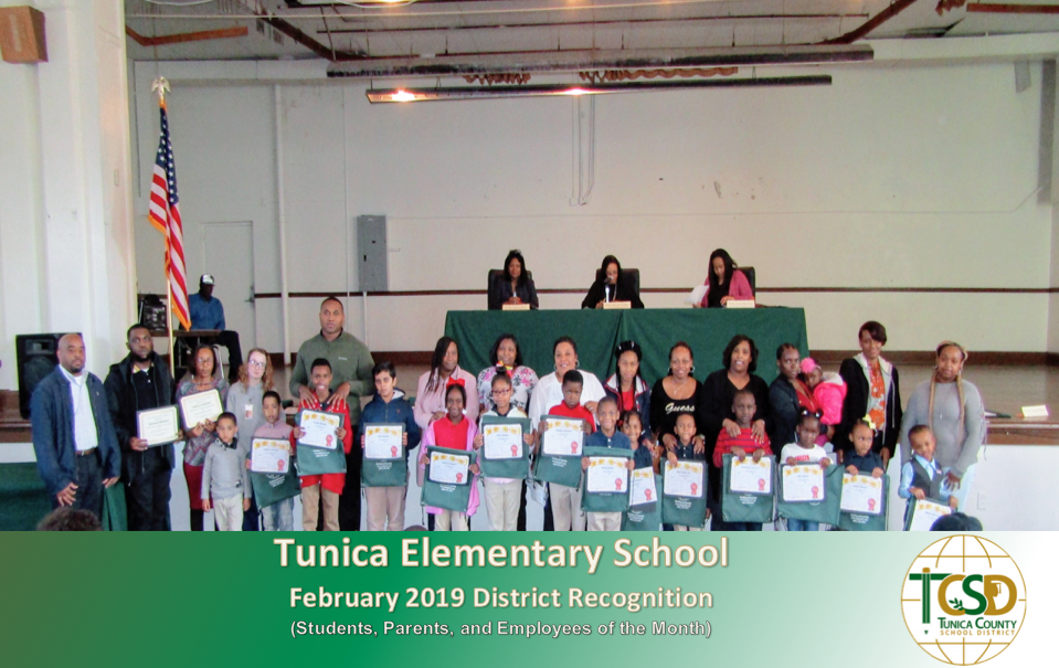 TES February Recognition