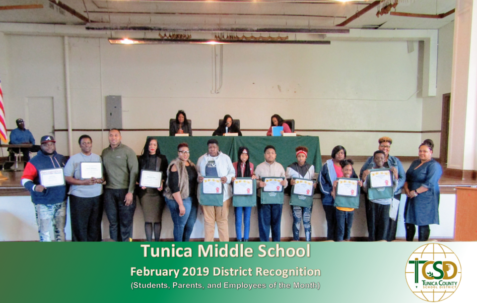TMS February Recognition